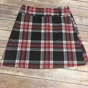 VTG Tartan Plaid Skirt 90s
